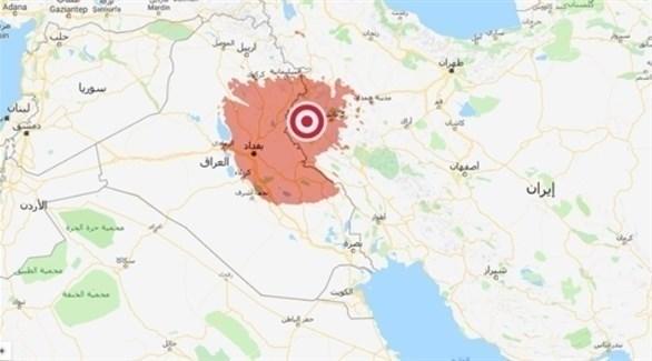 نقطة وقوع الزلزال