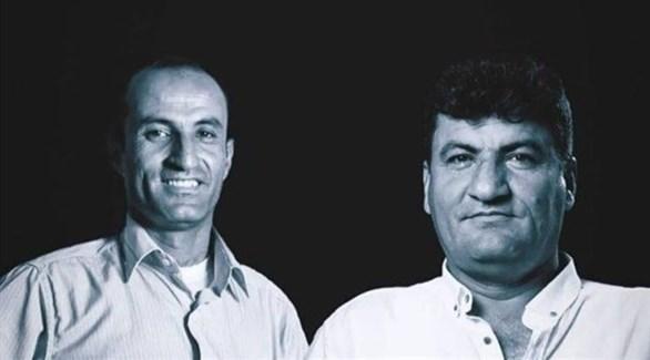 الصحافيان السوريان المغدوران رائد فارس وحمود جنيد (أرشيف)