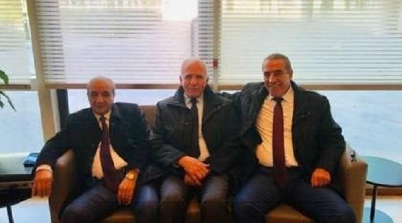 وفد حركة فتح في مصر (أرشيف)
