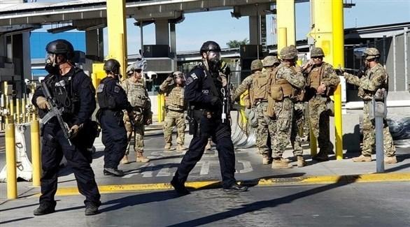 الشرطة الأمريكية على الحدود مع المكسيك (أرشيف)