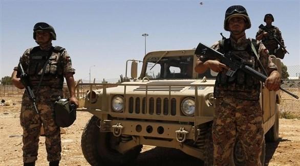 عناصر من حرس الحدود الأردنية (أرشيف)