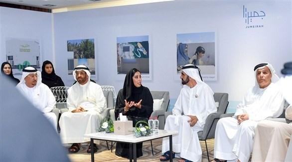 الشيخ محمد بن راشد يطلق مشروع جميرا (تويتر)