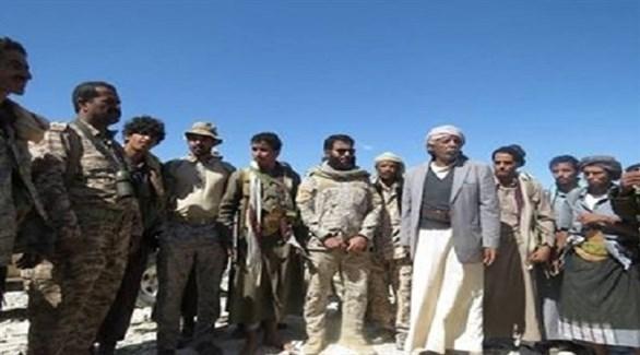وفد من التحالف العربي يزور الخطوط الأمامية في الملاجم (سبتمبر نت)