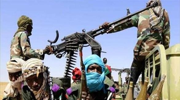 مسلحون تشاديون في جنوب ليبيا (أرشيف)