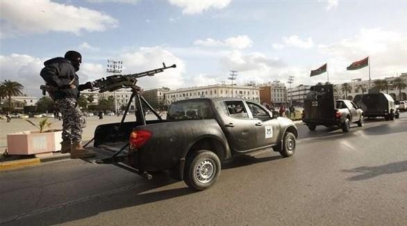 عناصر من الشرطة الليبية (أرشيف)