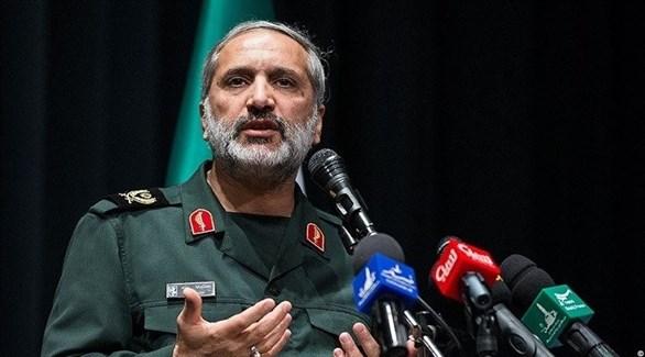 القيادي في الحرس الثوري الإيراني رضا يزدي (الحرة)