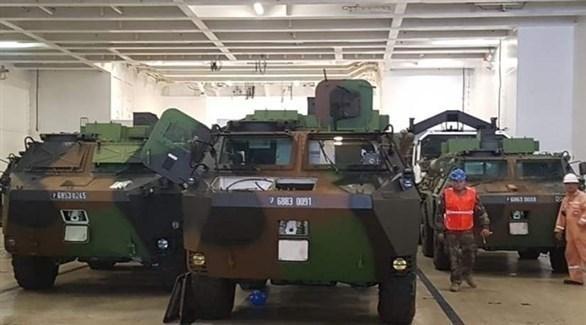 معدّات عسكرية فرنسية للجيش اللبناني (الوكالة الوطنية للإعلام)