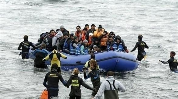 إنقاذ مهاجرين أفارقة وصلوا إلى أوروبا من ليبيا (أرشيف)