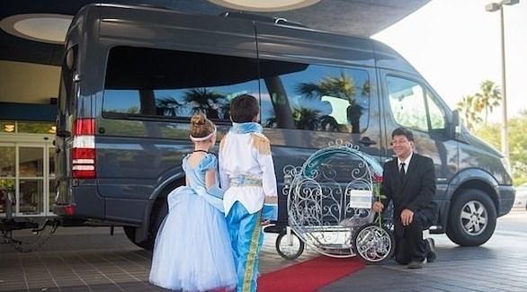 عربات مستوحاة من الخيال للأطفال في ديزني لاند (ديلي ميل)