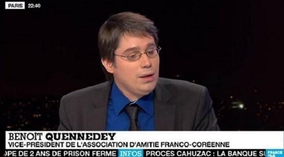 المسؤول في مجلس الشيوخ الفرنسي بينوا كينيدي (أرشيف)