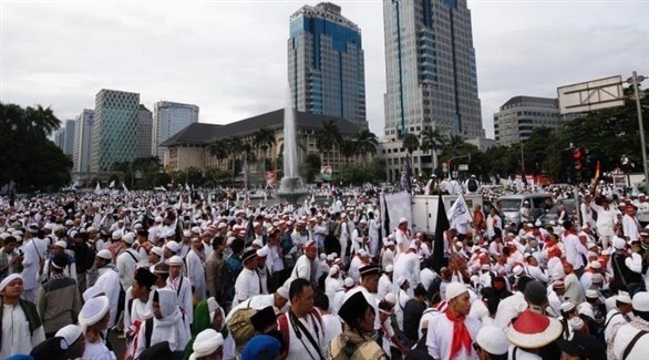 تجمع إسلامي في إندونيسيا (أرشيف)