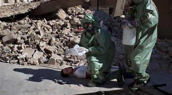 مفتشون يبحثون عن استخدام أسلحة كيماوية في هجوم على حلب (أرشيف)