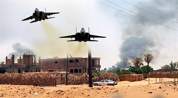 غارة أمريكية في ليبيا (أرشيف)