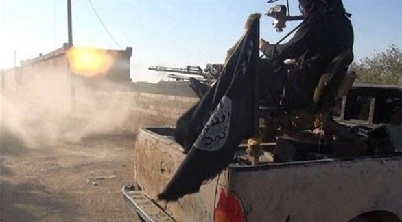 سيارة عسكرية تابعة لداعش في أفغانستان (أرشيف)