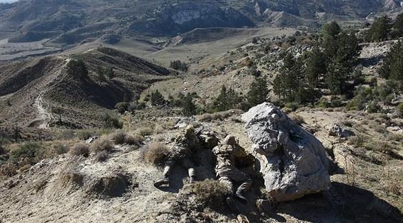 عناصر الجيش التركي في قضاء سيلوبي (أرشيف)