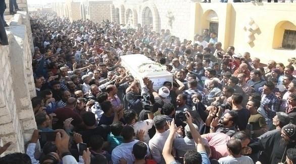 تشييع جثامين الأقباط ضحايا هجوم المنيا الإرهابي (24 - محمود العراقي)