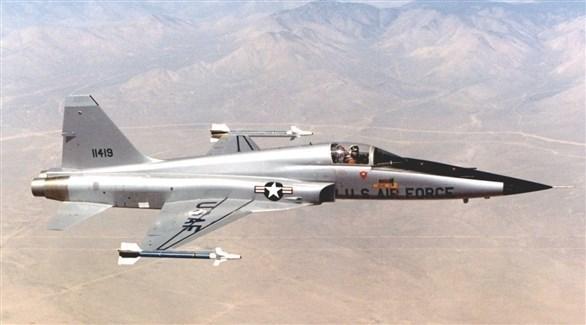 المقاتلة الأمريكية F-5 قديماً (أرشيف)