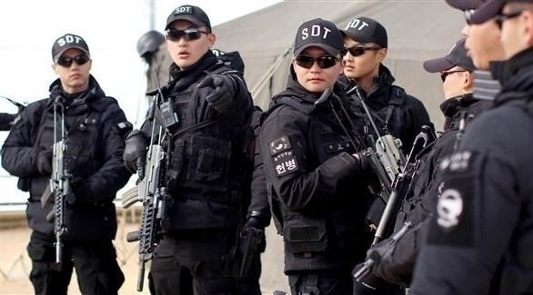 عناصر من شرطة كوريا الجنوبية (أرشيف)