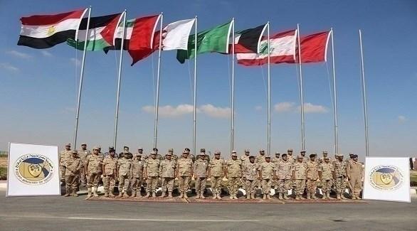 انطلاق فعاليات تدريب درع العرب بقاعدة محمد نجيب (المصدر)