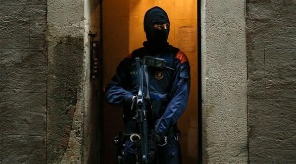 رجل أمن اسباني (أرشيف)