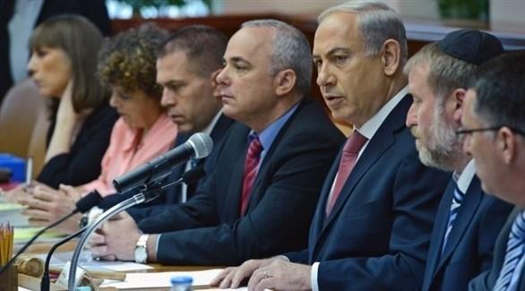 اجتماع للمجلس الأمني الإسرائيلي (أرشيف)