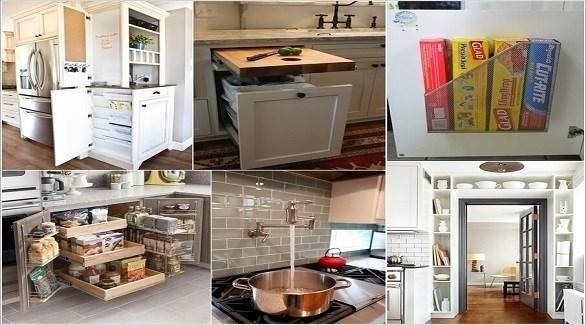 حيل في الديكور تسهل عمل ربة المنزل في المطبخ (أميزنغ إنتيرير ديزاين)