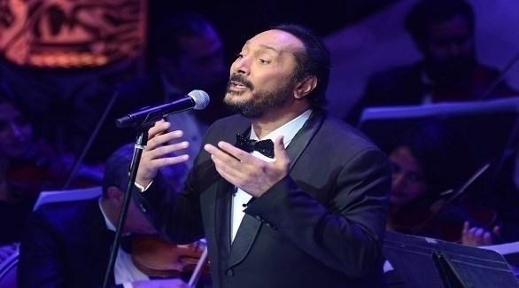 علي الحجار بحفله في مهرجان الموسيقى العربية (24 - محمود العراقي)