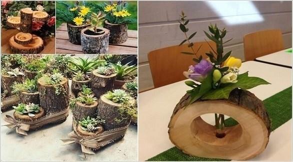 أفكار  للديكور باستخدام جذوع الأشجار  (أميزنغ إنتيرير ديزاين)