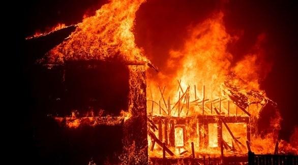 حرائ الغابات في كاليفورنيا (أرشيف)