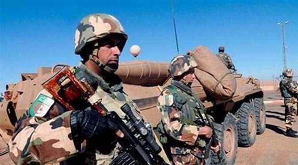 نقطة أمنية عسكرية جزائرية (أرشيف)