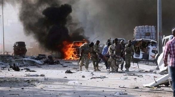 قتلى في انفجار سابق هز مقديشو الصومالية (أرشيف)