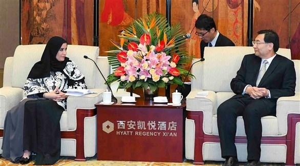 رئيسة المجلس الوطني الاتحادي ورئيس اللجنة الدائمة لمجلس نواب الشعب الصيني (وام)