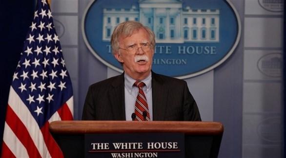 مستشار البيت الأبيض للأمن القومي جون بولتون (أرشيف)