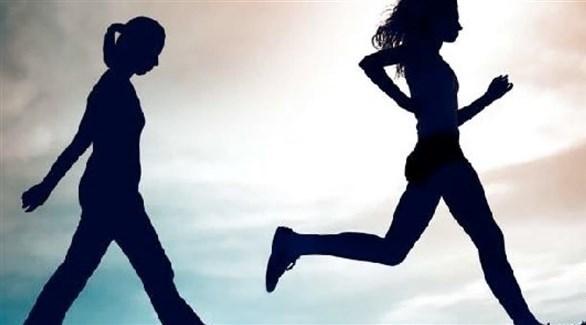 الركض يحرق سعرات أكثر من المشي في زمن أقصر (تعبيرية)