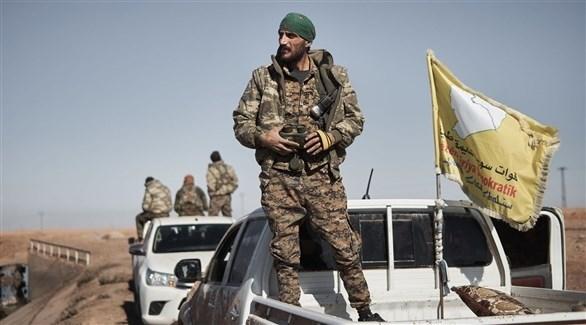 مقاتلون من قسد في سوريا (أرشيف)