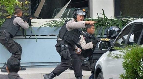 قوة امنية إندونيسية (أرشيف)