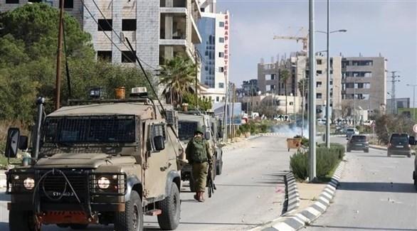 قوات الاحتلال تقتحم مدينة رام الله (تويتر)