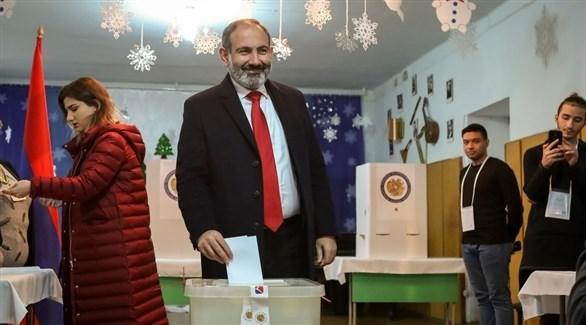 رئيس الوزراء الأرميني المستقيل نيكول باشينيان (أرشيف)