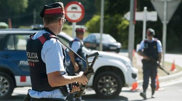 عناصر من شرطة إقليم كتالونيا