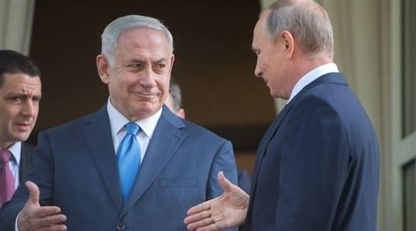 بوتين ونتانياهو (أرشيف)