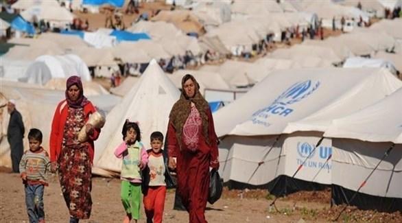 لاجؤون في مخيمات تابعة لأمم المتحدة (أرشيف)