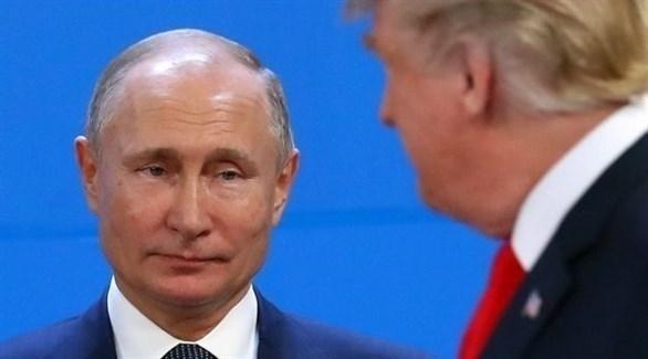 الرئيس الروسي فلاديمير بوتين ونظيره الأمريكي دونالد ترامب (ميرور البريطانية)