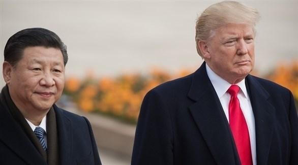 ترامب والرئيس الصيني شي جين بينغ (أرشيف)