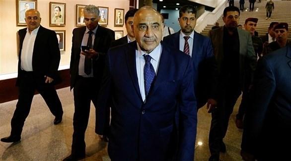 رئيس الحكومة العراقية عادل عبد المهدي (أرشيف)