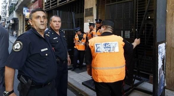 عناصر من شرطة الأرجنتين (أرشيف)