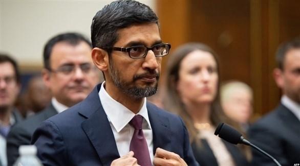 الرئيس التنفيذي لشركة غوغل سوندار بيتشاي (أرشيف)