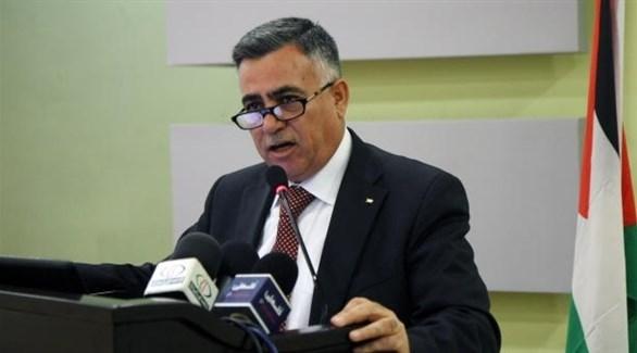 وزير الحكم المحلي الفلسطيني حسين الأعرج (أرشيف)