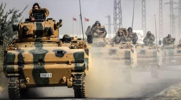 جيش تركي على الحدود مع سوريا (أرشيف)