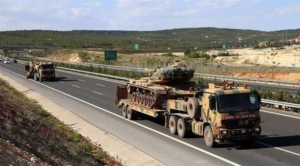 تعزيزات عسكرية تركية إلى سوريا (أرشيف)