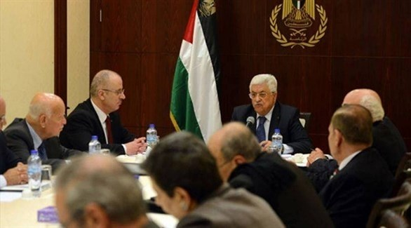 الحكومة الفلسطينية بقيادة الرئيس محمود عباس (أرشيف)